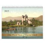 Visiones mundiales 2015 de Olde de Killarney Calendario De Pared