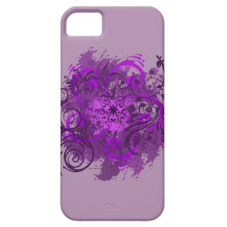 Visiones violetas iPhone 5 carcasas