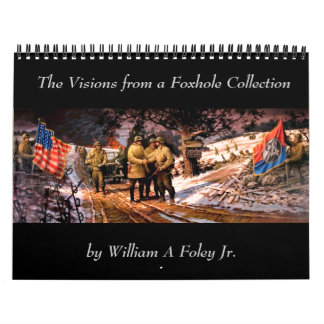 Visions from a Foxhole Calendar