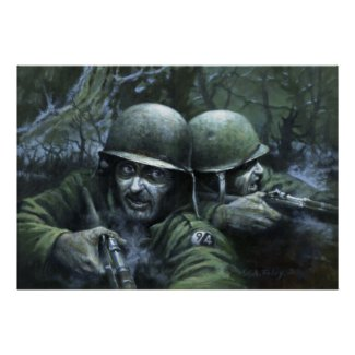 Visions from a Foxhole (cover) print