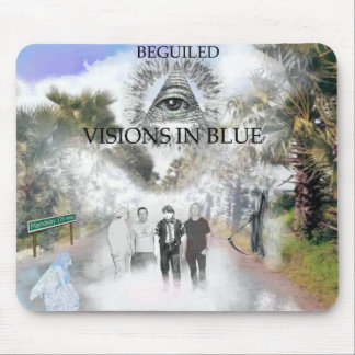 Visions in Blue Mousepad