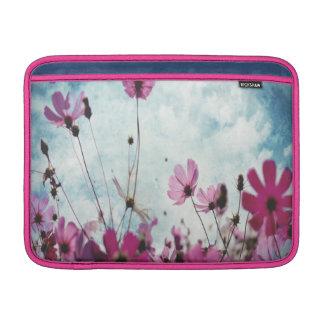 Visions In Pink Floral Design Large Skinny Sleeve Sleeve For MacBook Air