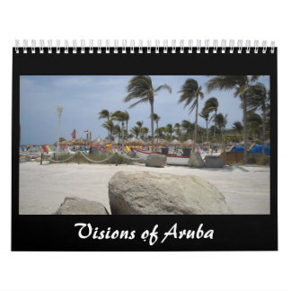 Visions of Aruba Calendars