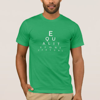 Visions of Equality Eye Chart Shirt