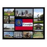 Visions of Georgia Postcard