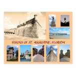 Visions of Historic St. Augustine, Florida Postcard