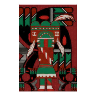 Visions Of Hopi Poster