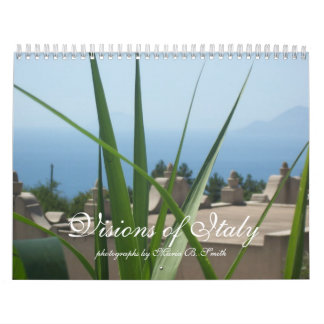 Visions of Italy Calendar