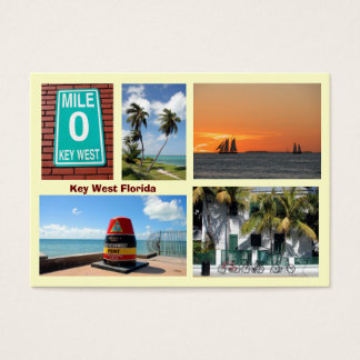 Visions of Key West Florida Business Card