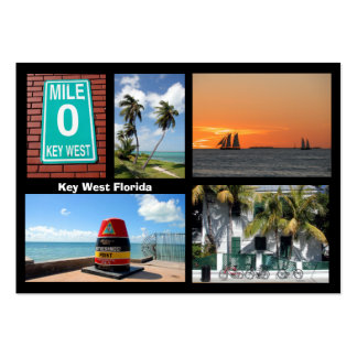 Visions of Key West Florida Large Business Card