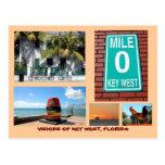 Visions of Key West, Florida Postcard