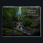 """Visions of Oregon Calendar 2019<br><div class=""""desc"""">From the rivers of the Willamette National Forest to the canyons of the high desert,  this 12-month calendar showcases Oregon&#39;s unique and diverse landscape. Featuring selections from Central Oregon photographer Kendra DiAngelo.</div>"""