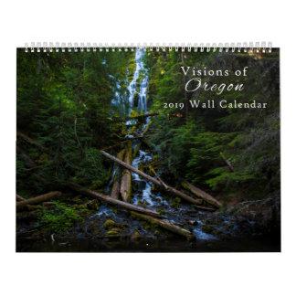 Visions of Oregon Calendar 2019