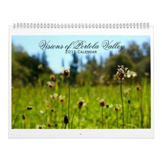Visions of Portola Valley 2011 Calendar