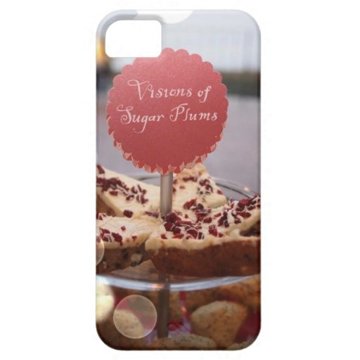 Visions of Sugar Plums. iPhone 5 Cover