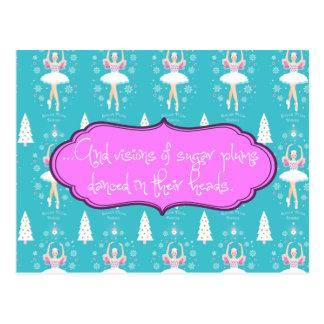 Visions of Sugarplums Ballet Postcard
