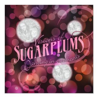 Visions Of Sugarplums Photo Holiday Card