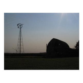Visions of the South Dakota prairie Postcard