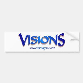 Visions_URL_Transp Bumper Sticker