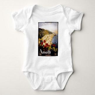 Visit Amalfi Poster Baby Bodysuit