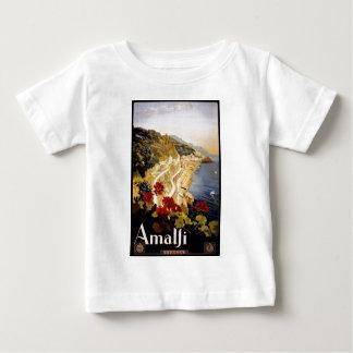 Visit Amalfi Poster Baby T-Shirt