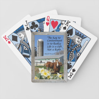 Visit Amish Country Lancaster Pa.! Working Farms! Bicycle Playing Cards