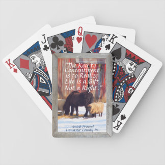 Visit Amish Country Lititz Pa.! Bicycle Playing Cards