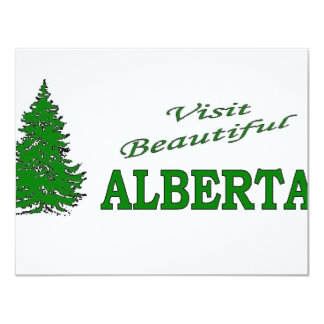 Visit Beautiful Alberta Card