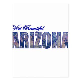 Visit Beautiful Arizona Postcard