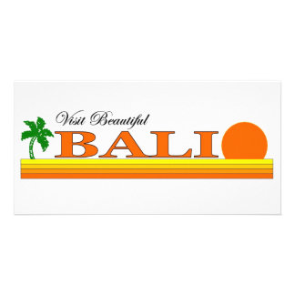 Visit Beautiful Bali, Indonesia Picture Card