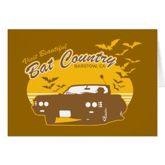 Visit beautiful bat country, barstow, ca card