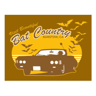 Visit beautiful bat country, barstow, ca postcard