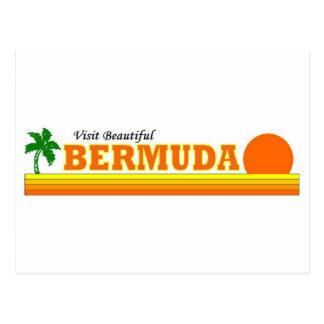 Visit Beautiful Bermuda Postcard