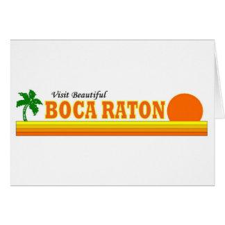 Visit Beautiful Boca Raton Card