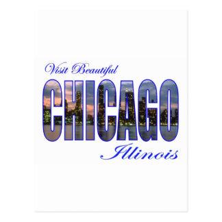 Visit Beautiful Chicago, Illinois Postcard