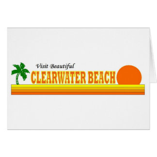 Visit Beautiful Clearwater Beach Greeting Cards