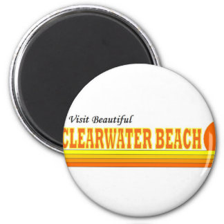 Visit Beautiful Clearwater Beach Refrigerator Magnet