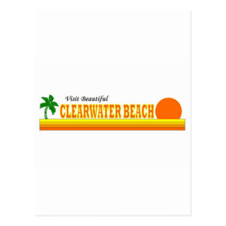 Visit Beautiful Clearwater Beach Post Cards