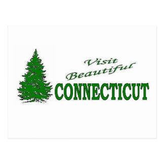 Visit Beautiful Connecticut Postcard