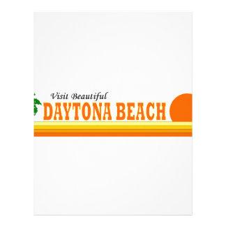Visit Beautiful Daytona Beach Custom Letterhead