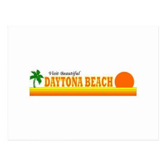 Visit Beautiful Daytona Beach Postcard