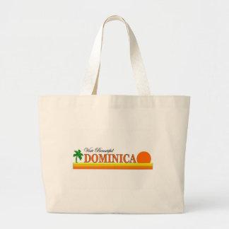 Visit Beautiful Dominica Tote Bag