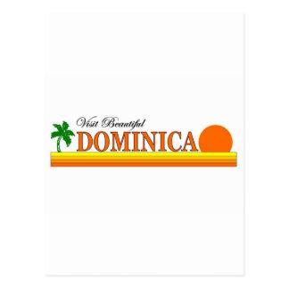 Visit Beautiful Dominica Postcard