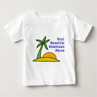 Visit Beautiful Downtown Akron Baby T-Shirt