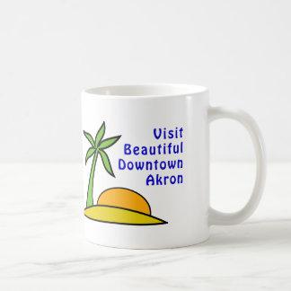 Visit Beautiful Downtown Akron Mugs