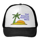 Visit Beautiful Downtown Akron Trucker Hats