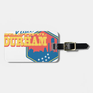 Visit Beautiful Durham Luggage Tag