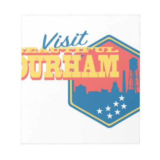 Visit Beautiful Durham Notepad