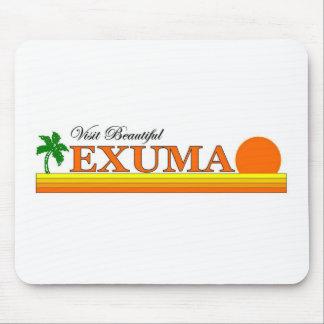 Visit Beautiful Exuma, Bahamas Mouse Pad