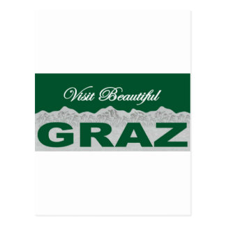 Visit Beautiful Graz Postcard